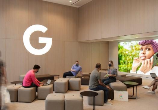 Google Store NYC Workshop Space