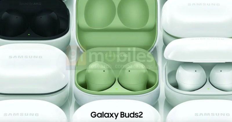 Samsung Galaxy Buds 2 Leaked Colorways