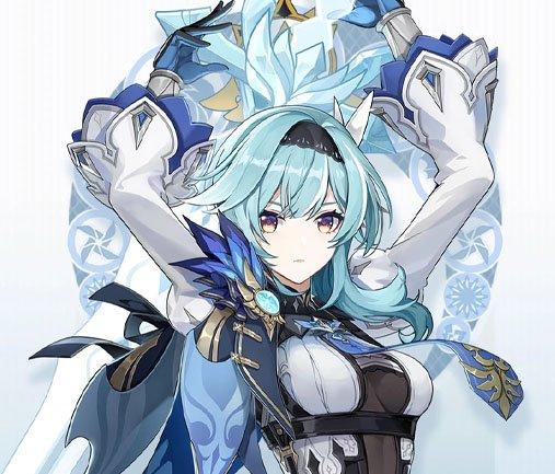 Genshin Impact Characters Eula