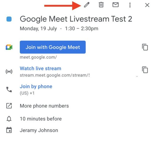 How To Livestream Google Meet 6