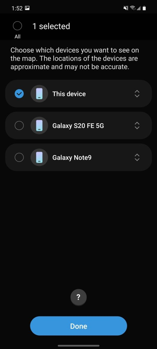 Samsung Findmydevice App 7