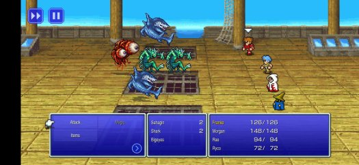 Final Fantasy Pixel Remasters Shark