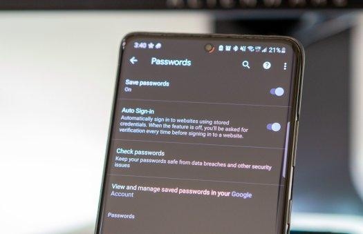 Google Passwords S21u Lifestyle