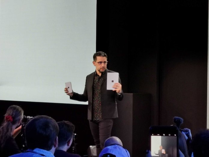 Here's why the Surface Neo runs Android, but the Duo has Windows
