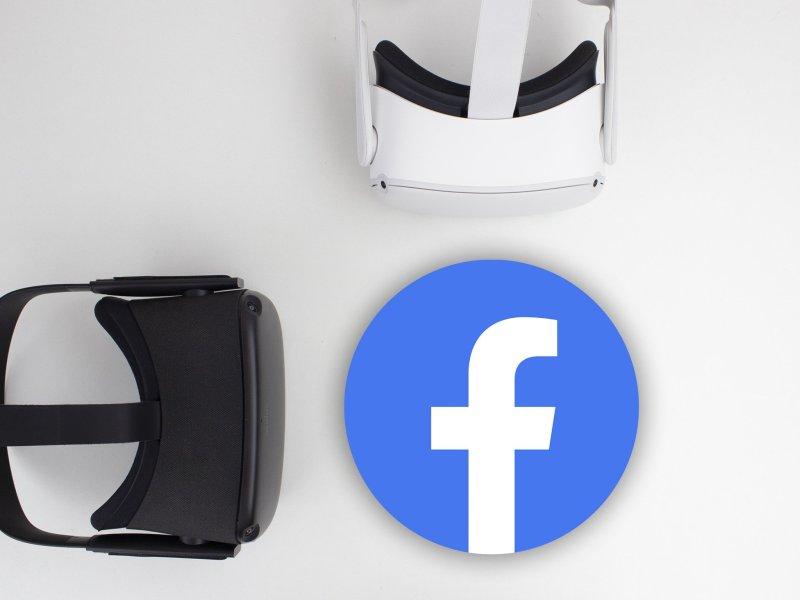Oculus Quest 2 Facebook Logo