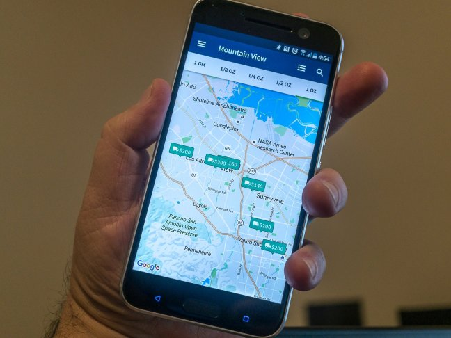 wikileaf-android-app-1 Wikileaf app helps you find the (legal) herb you're looking for Android