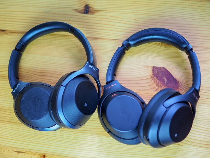 Sony WH-1000XM2 and WH-1000XM3 headphones