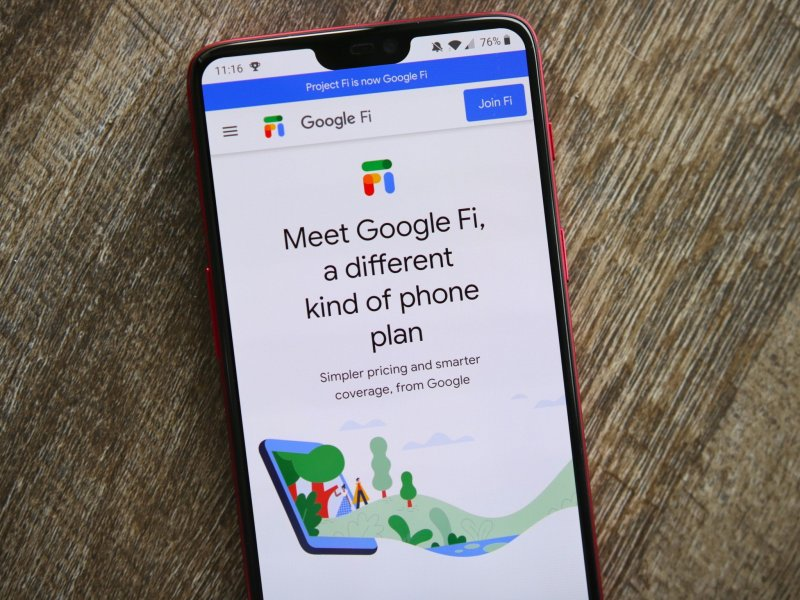 Google FI Website