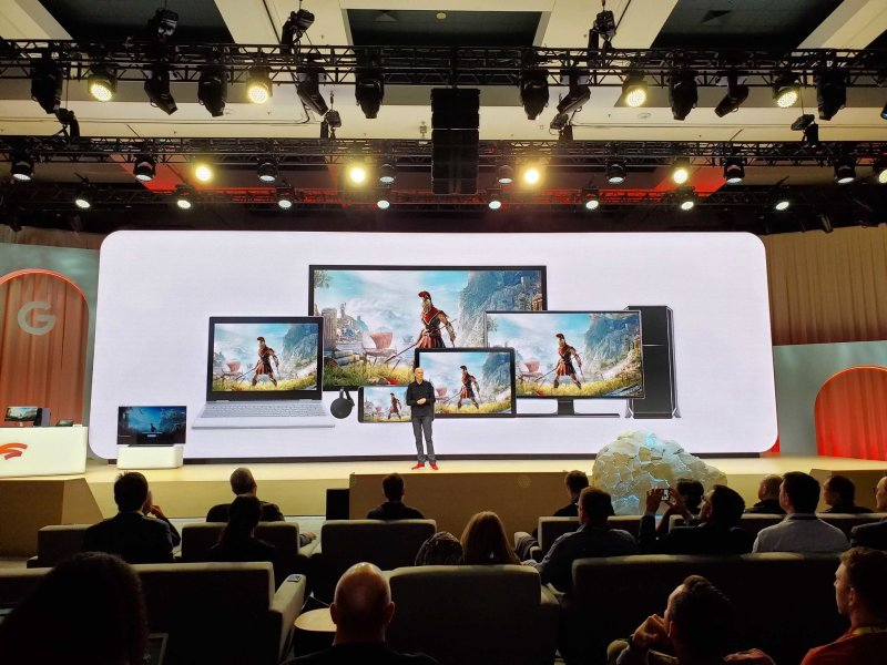 A presentation of the devices Stadia can run on