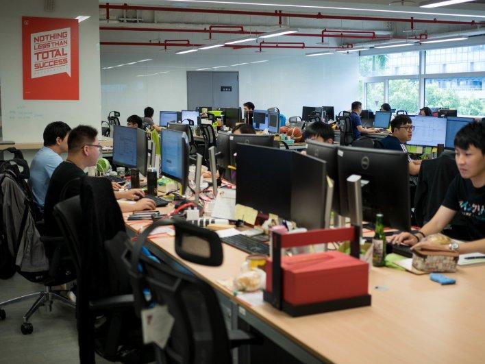 À l'intérieur du laboratoire photo OnePlus
