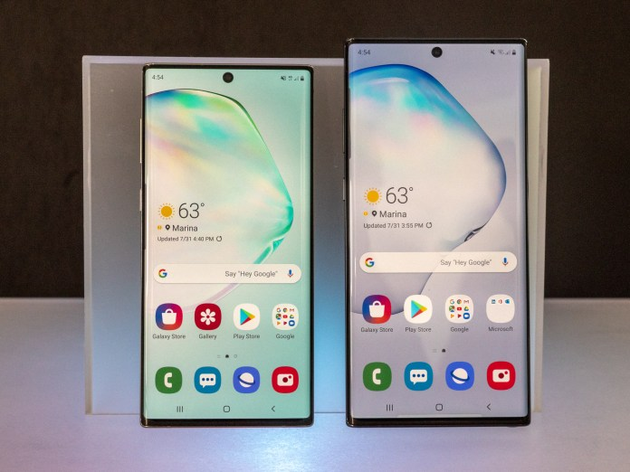 Galaxy Note 10's UFS 3.0 storage is faster than all other Android flagships