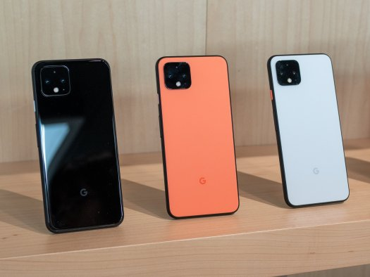 Pixel 4 in all colors