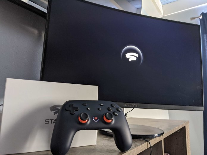 Stadia on a Monitor