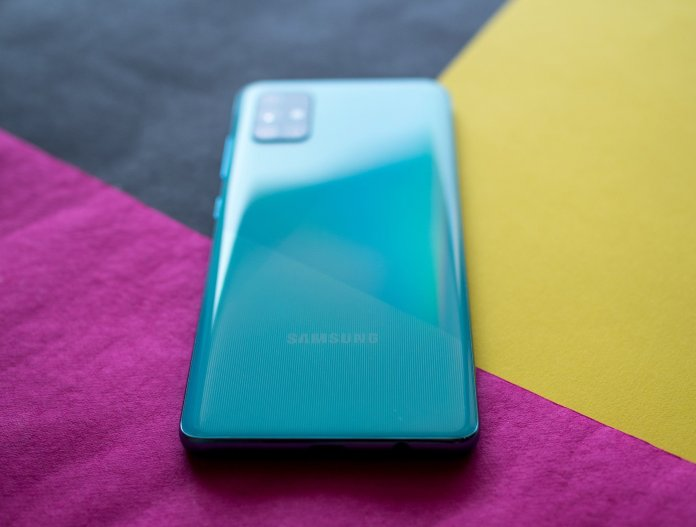 Samsung Galaxy A51 Review Old Wine In A Shiny New Bottle Android Central
