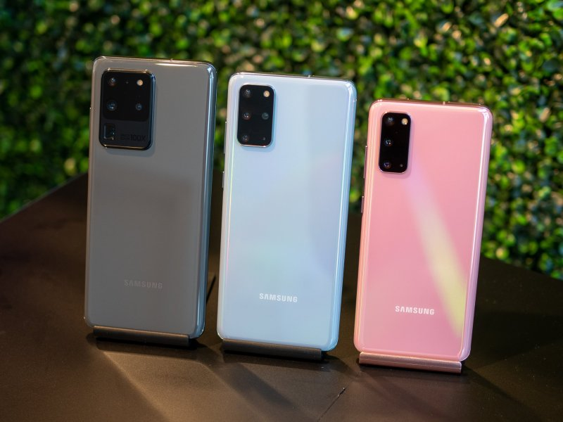 Galaxy S20, S20+ and S20 Ultra