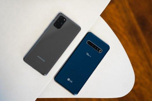 Samsung Galaxy S20+ and LG V60