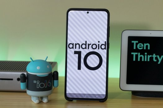 Android 10 Easter Egg Galaxy S20 Plus