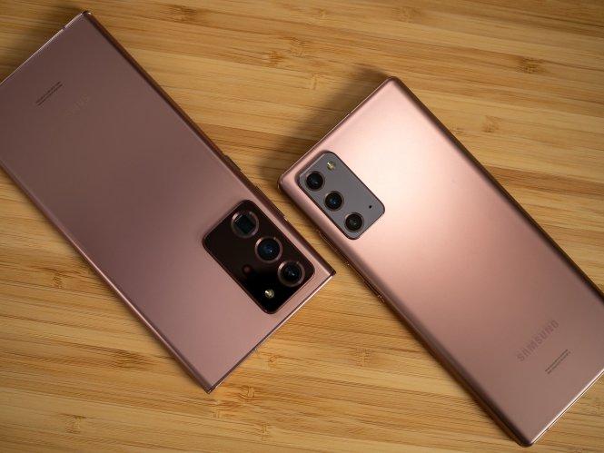 Galaxy Note 20 Vs Note 20 Ultra Bronze