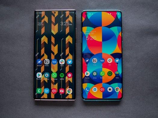 Samsung Galaxy Note 20 Ultra vs. OnePlus 8 Pro
