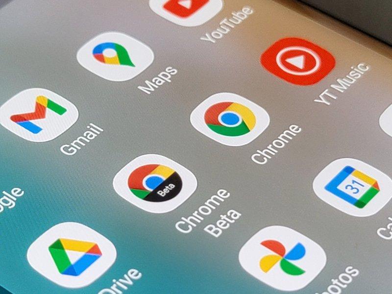 Google Chrome Beta Apps