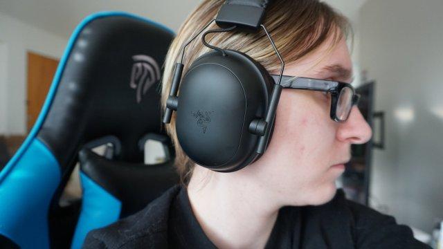 Razer Blackshark V2 Pro Headset Side Hero
