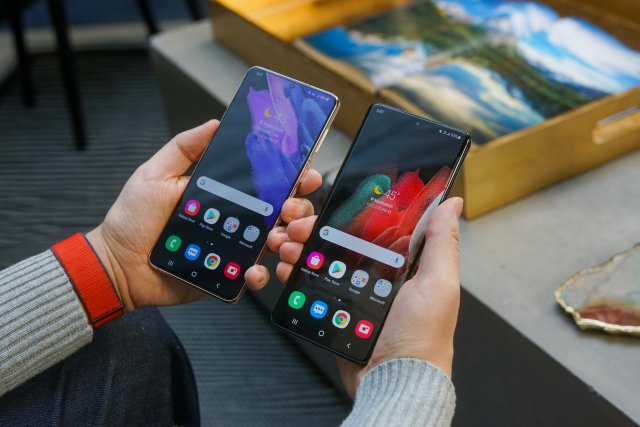 Samsung Galaxy S21 Ultra Vs S21 Plus