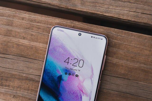 Verizon 5G on the Galaxy S21