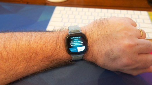 How To Factory Reset Fitbit Smartwatch 5