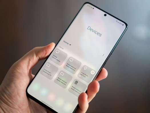 One UI Devices menu