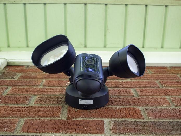 Ring Floodlight Cam Wired Pro Underside