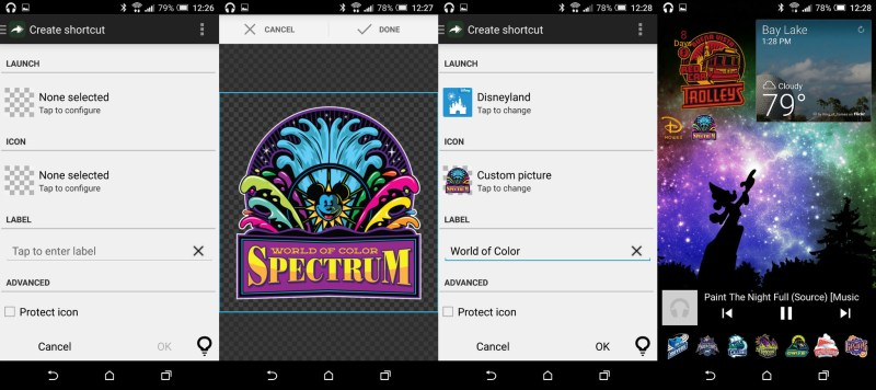 Make any image, any icon, open any of your installed apps. Use it to theme or just to camouflage.