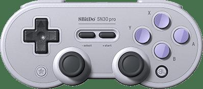 8Bitdo SN30 Pro Render