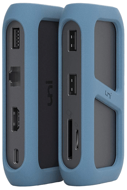 The best docking station for a Chromebook is the Uni USB-C Hub 2