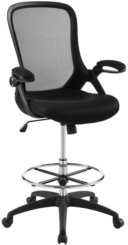 Modway Assert Mesh Drafting Chair Render