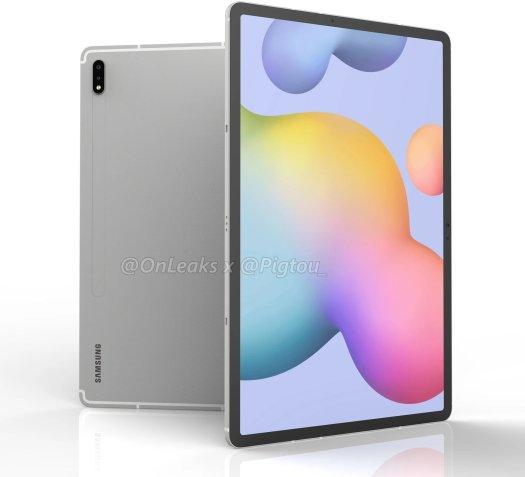 Samsung Galaxy Tab S7 Plus Cad Render