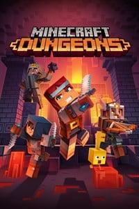 Minecraft Dungeons Box Art