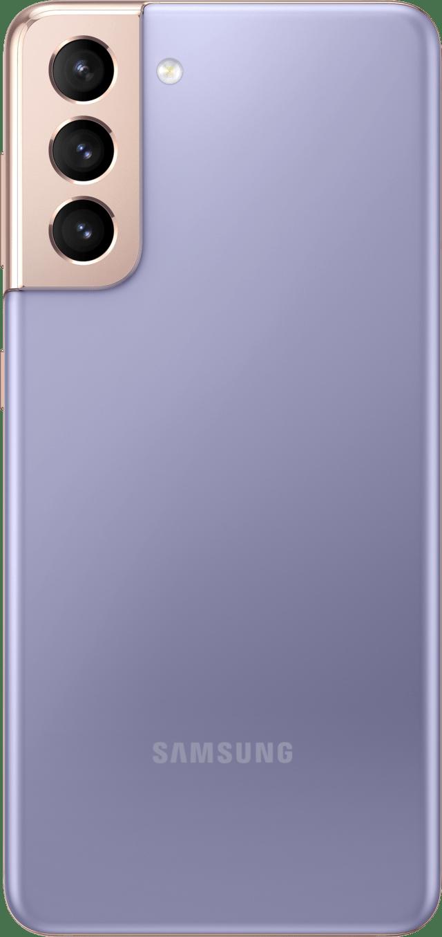 Samsung Galaxy S21 Render Phantom Violet Back Official