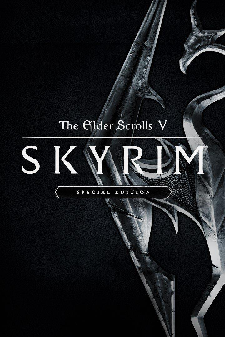 Skyrim Cover Art