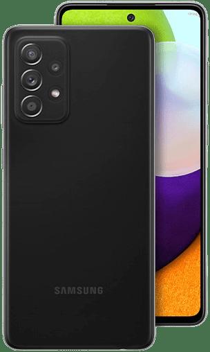Galaxy A52 Awesome Black