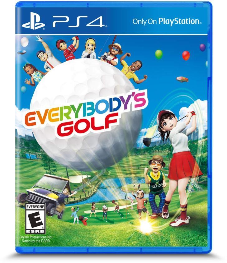 Everybodys Golf Ps4 Box Art