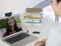 Don't be the only one with a potato webcam for those video conference calls