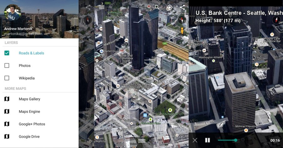 Google Maps and Google Earth  What s the difference    Android Central Google Earth