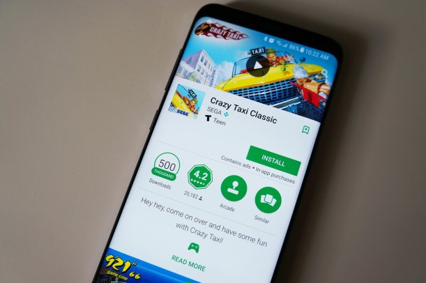 Image result for crazy taxi classic is currently free in the google play store