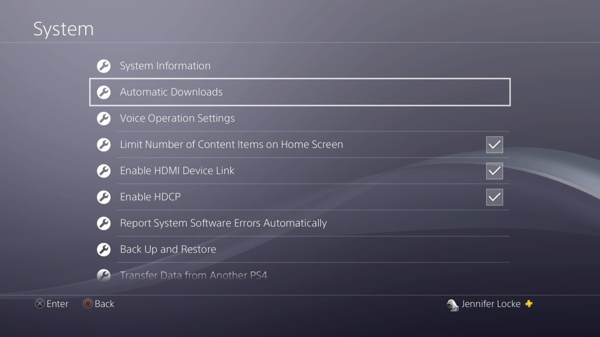 ps4 turn off auto update 2 - تعرف على كيفية منع ألعاب بلايستيشن 4 من التحديثات التلقائية التي تأخذ ساعات