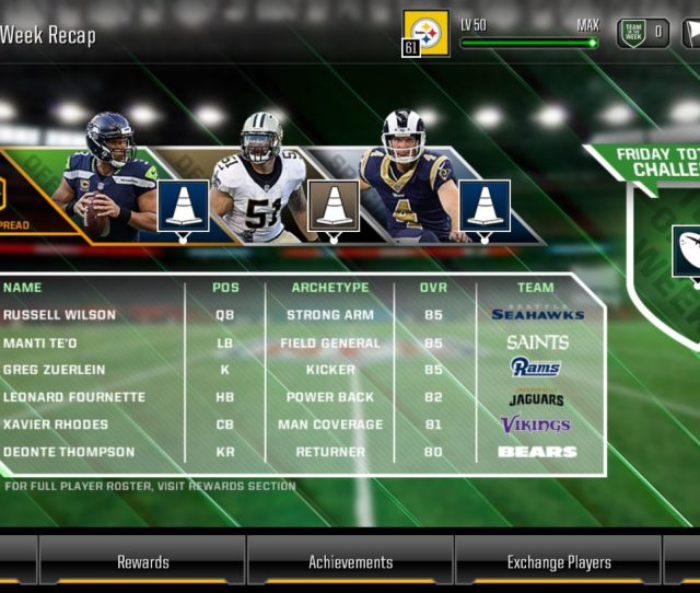Madden Overdrive Is All About Building Up A Team Of Players And Competing Against Others You Acquire Players And Coaches Via Several Different Means