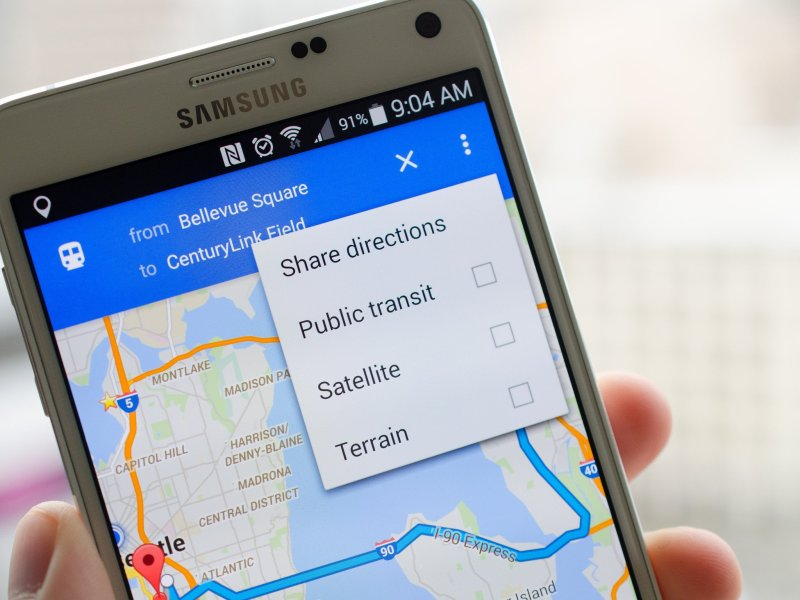 How to share directions in Google Maps for Android   Android Central How to share directions in Google Maps for Android
