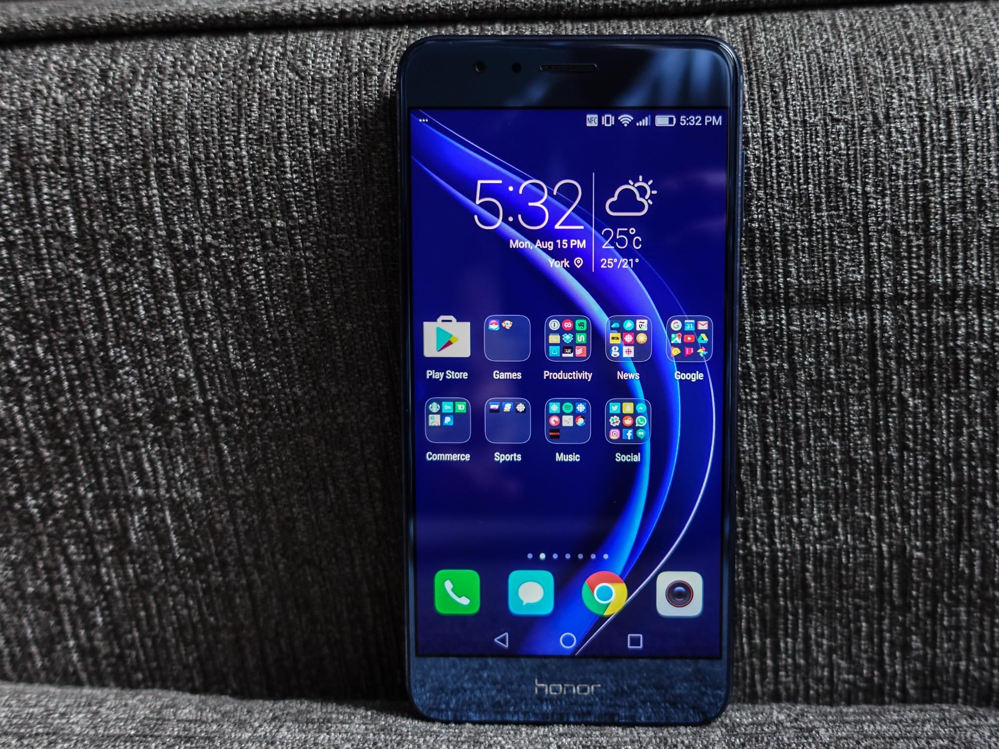 Honor 8: ecco quando sarà disponibile l'aggiornamento ad Android Nougat