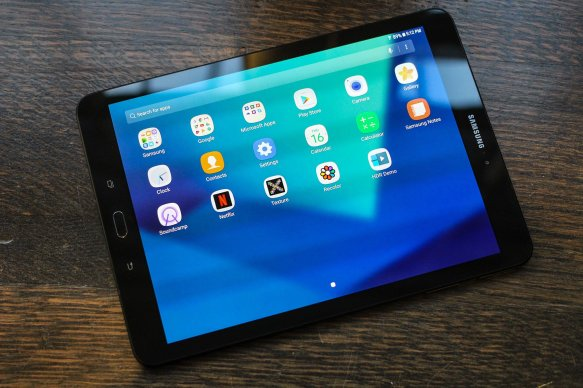 Image result for tab s3 display
