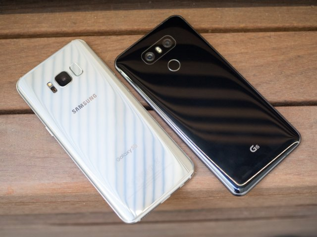 Image result for Buy a Galaxy S8, LG G6 or LG V20 and get one free with this special deal from T-Mobile and Android Central
