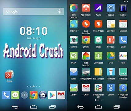 Best android launcher Apex